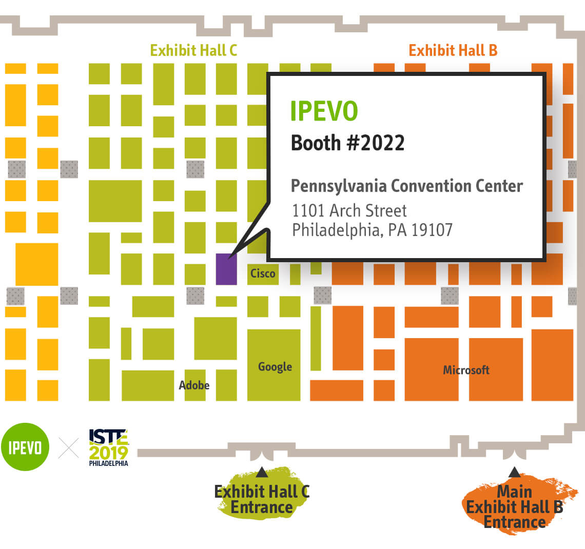 Come see us at ISTE 2019 from June 24-26. Join us at booth 2022 at the Pennsylvania Convention Center, Philadelphia, PA.