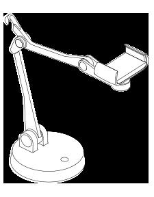 IPEVO Uplift Multi-angle Arm for Smartphones