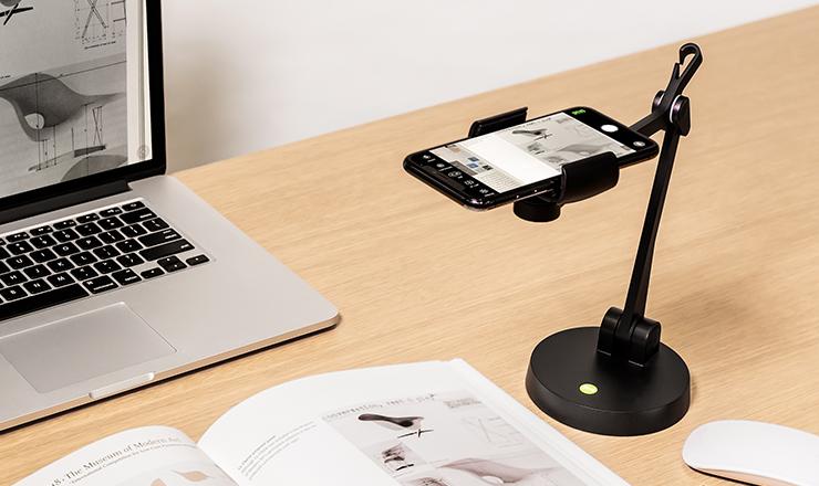 IPEVO Uplift Mehrgelenkiger Arm für Smartphones